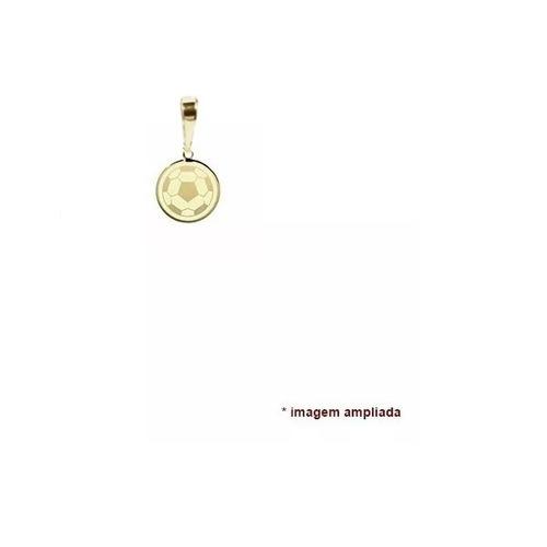 pingente ouro 18 quilates bola de futebol, esportes
