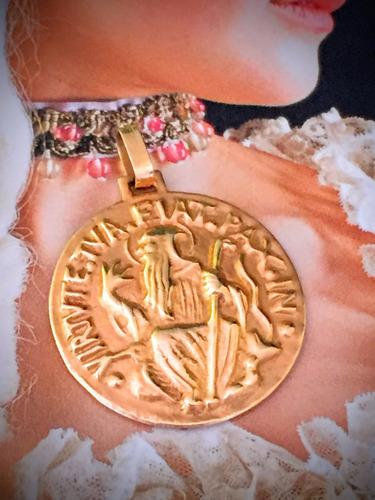 pingente ouro 18k-750-4.3gr.tam.moeda de 1 real.arg.6mm.x 4