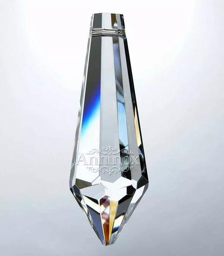 pingente pirulito 38 mm cristal asfour lustres 100pçs
