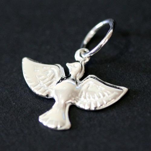 pingente prata 925 espirito santo
