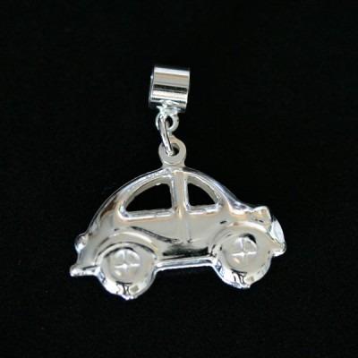 pingente prata 925 fusca para pulseira momentos de vida
