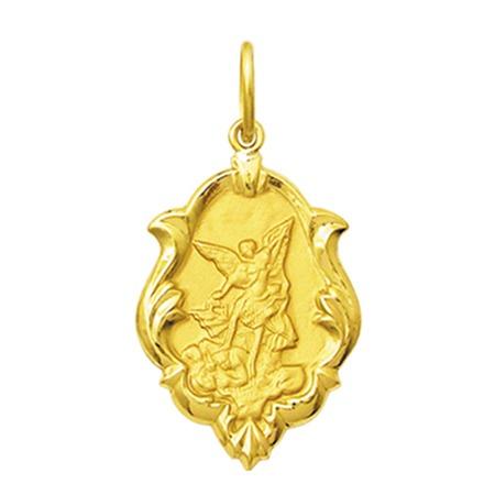 Pingente Religioso De São Miguel Arcanjo, M, Em Ouro 18k - R  352,80 ... ab0b7dcb1d