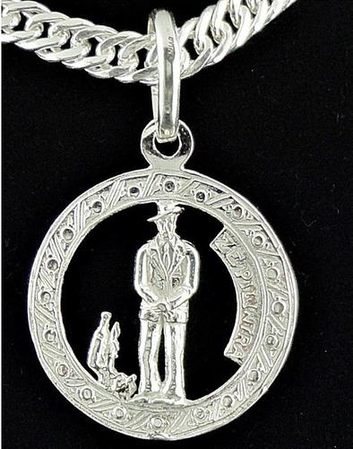 pingente zé pelintra em prata 950.
