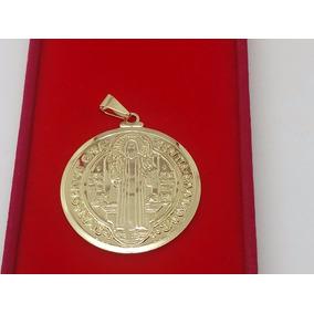 551e3acb7de1a Medalha De São Bento Grande Em Ouro - Joias e Relógios no Mercado ...