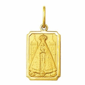 a5175c33fb1e9 Medalha Nossa Senhora Aparecida Em Ouro 18k - Joias e Relógios no ...
