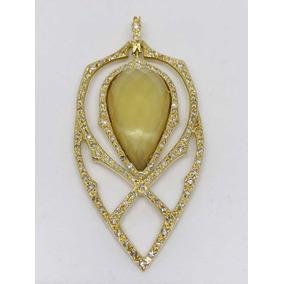 9e743e568c586 Glitter Pingente Vivara Coleção Tribal Ouro Diamante Quartzo