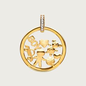 361bf39974264 Pingente Mandala De Ouro(18k 750) Com Nomes - Joias e Bijuterias no ...