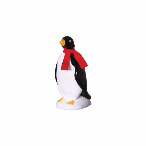 pinguim de geladeira em porcelana clássico preto e branco