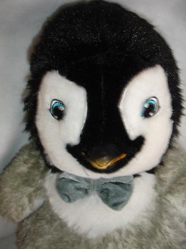 pinguino la corbata se ilumina
