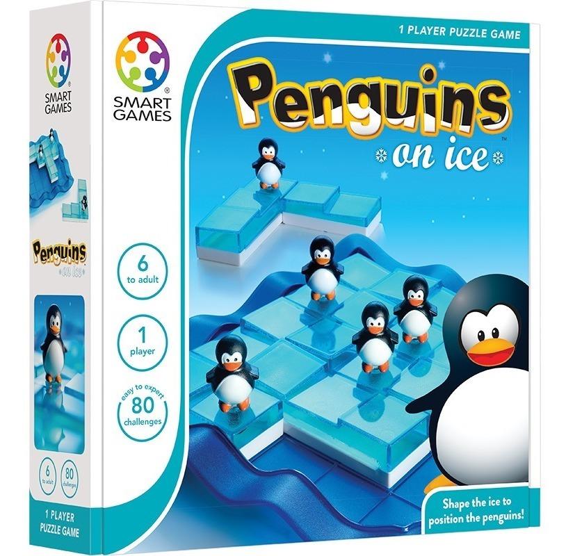 Pinguinos Sobre Hielo Diversión Habilidad Mental Smart Juegos