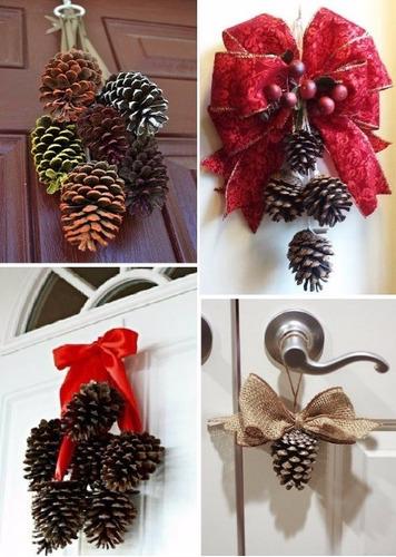 pinha natural natalina enfeite natal pinhas barata top 100
