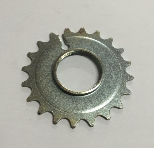 pinhao de bicicleta 20 d. rosca - metalciclo c/10pçs