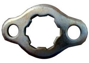 pinhão 14 dentes + trava titan125/fan/ybr/xlr/xls125 aço1045