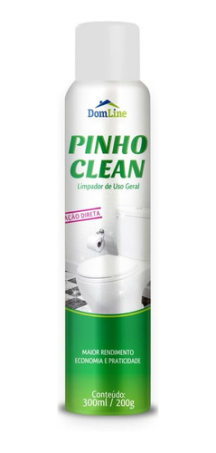 pinho clean uso geral aerosol - 210167