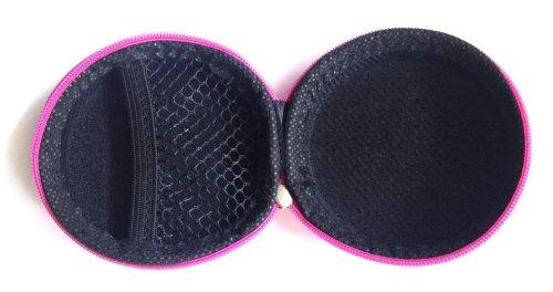 pink bolsa de transporte para skullcandy 50/50, chuletas bu