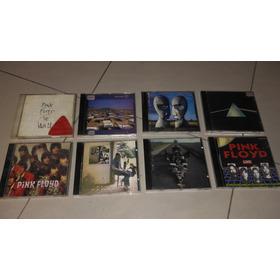 Pink Floyd 8 Cds Banda Originais E Com Encartes Impecáveis