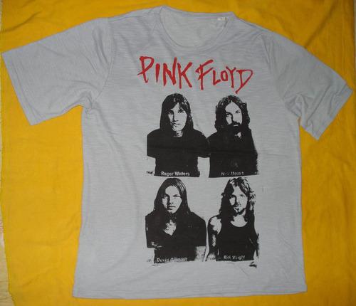 pink floyd camiseta bandas rock algodão fio 30