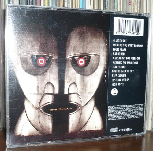 pink floyd cd the division bell