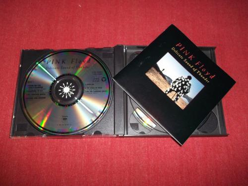 pink floyd delicate sound of thunder cd doble imp 1990 mdisk