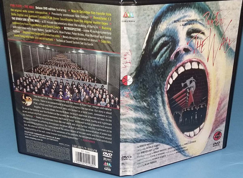 pink floyd - dvd the wall - [ o filme ] - lacrado