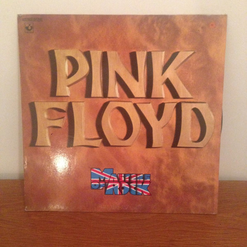 pink floyd masters of rock compilado 1974 1era ed fr vinilo