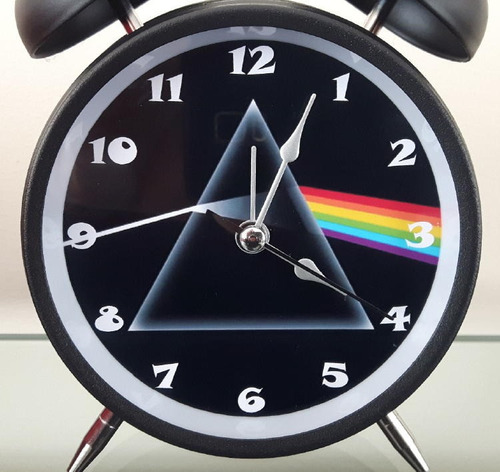 pink floyd reloj despertador estilo vintage pink floyd