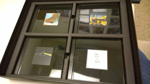 pink floyd shine on rare box set 8 cd's + cd bonus+ libro