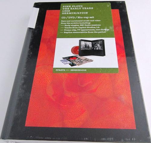 pink floyd - the early years 1968 nuevo cd dvd blu ray set