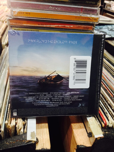 pink floyd the endless river cd nuevo 18 tracks progresivo