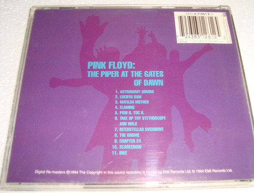 pink floyd the piper at the gates of dawn cd excelente