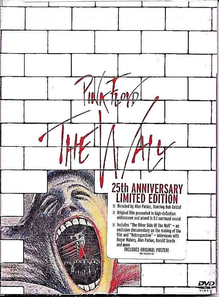 Pink Floyd The Wall Dvd 25 Aniversario Pelicula Led Zeppelin ...