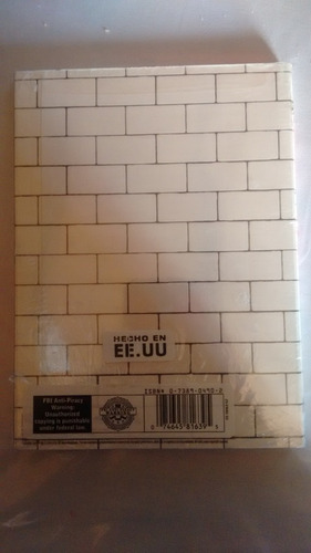pink floyd - the wall movie limited edition dvd + póster