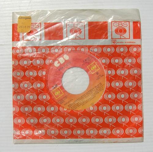 pink floyd una de mis vueltas 7  vinyl 45 rpm mexicano 1979