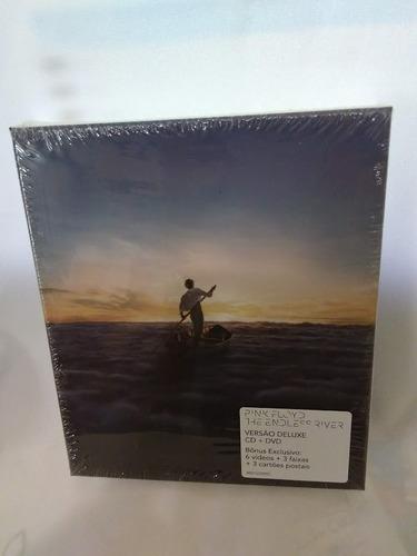 pink floyd(cd+dvd) the endless river-deluxe-novo lacrado