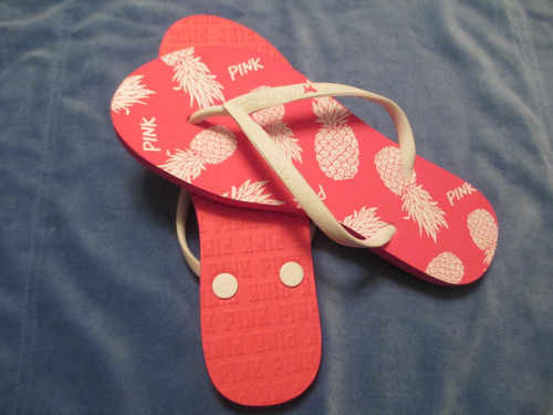 pink sandalias  mujer talla 7/8 (38-39) victoria secret