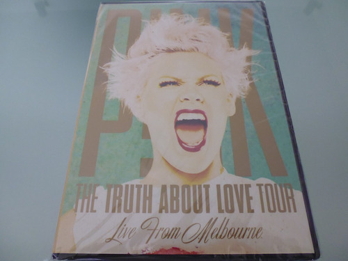 pink / the truth about love tour / live from melbourne / dvd