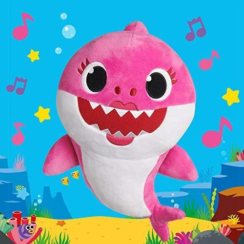 pinkfong baby shark muñeca oficial de la canción - mommy