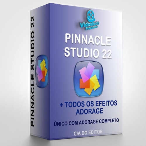 pinnacle 22 + plugins + efeitos - o mais completo do mercado