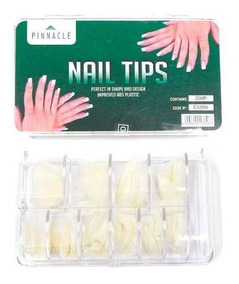 Pinnacle Nail Tips Uñas Postizas Naturales Caja 200un E335n