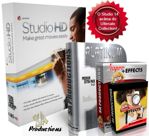 pinnacle studio 15hd ultimate collection ultra pack platinum