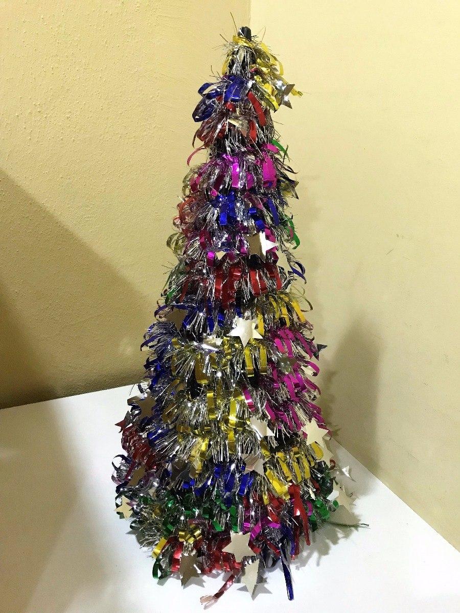 pino arbol navidad de mesa escritorio pequeo metalizado cargando zoom - Arbol De Navidad Pequeo