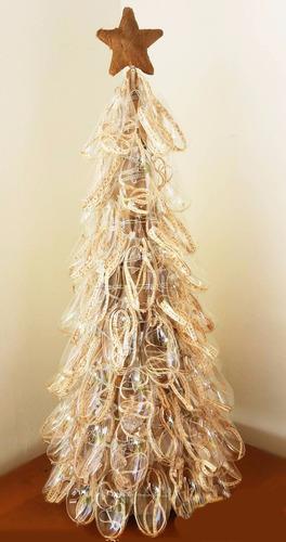 pino de los deseos. vidrio soplado artesania navidad
