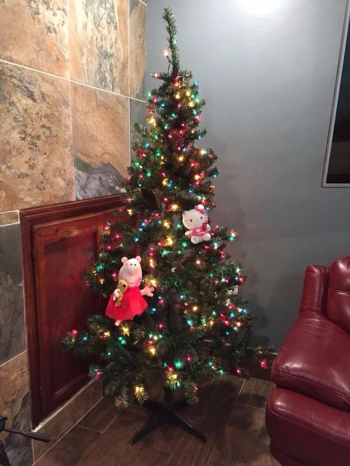 Pino Navidad Grande Con Luces De Colores - $ 970.00 en Mercado Libre