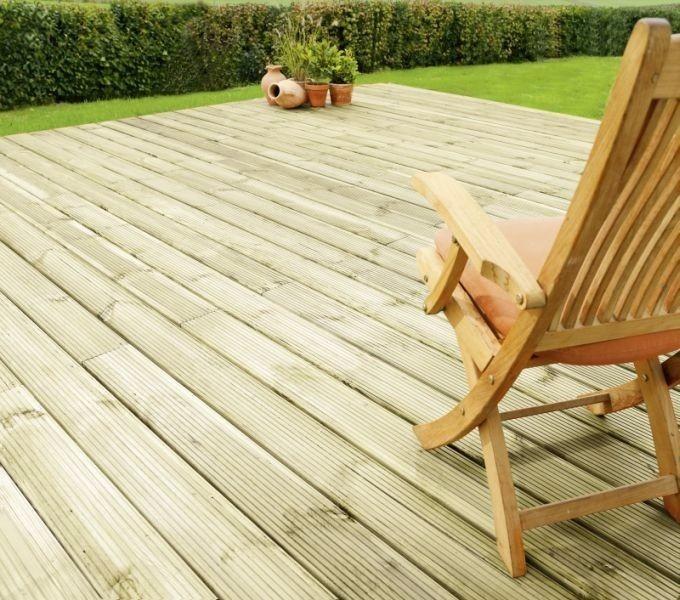 Pino tratado deck de madera para exteriores en - Madera para exteriores ...