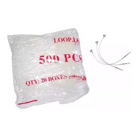 Pino Trava Anel C/1.000 Para Etiquetas Lacre 175mm