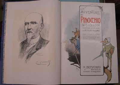pinocchio, tercera edición, ilustrada, 1918