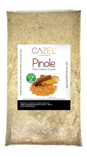 pinole tradicional oaxaca con canela y cacao 1kg natural