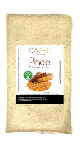 pinole tradicional oaxaca con canela y cacao 500g natural