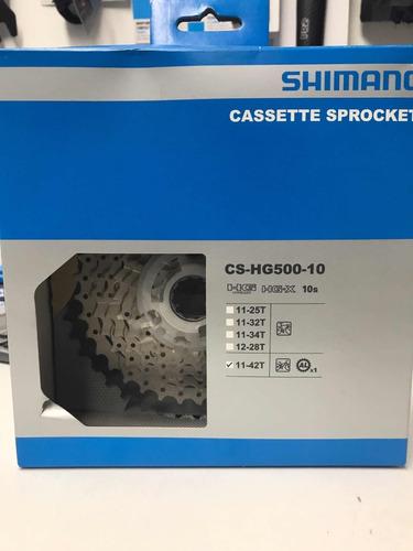 piñon shimano cs - hg500 (10 velocidades)