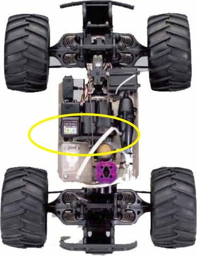 piñón spur gear 72/32   72 dientes - repuesto para traxxas